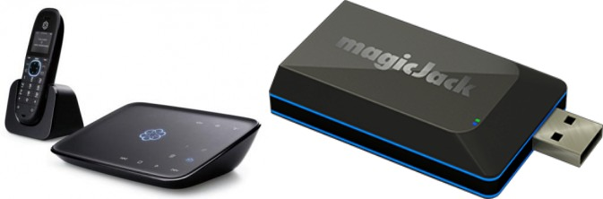 Ooma Telo Package (Telephone & hub) vs magicJack Go