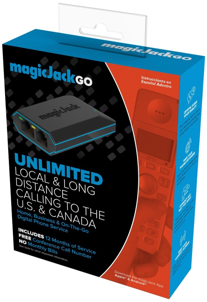 New magicJack GO packaging