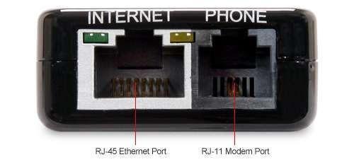 RJ11 Phone Port