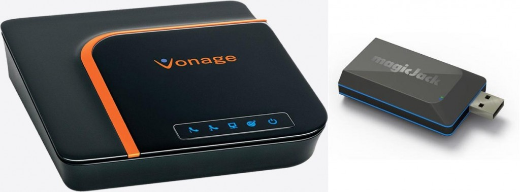 vonage and magicJack adapters