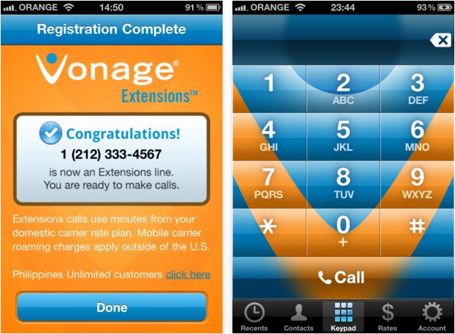 Vonage Extensions Apps