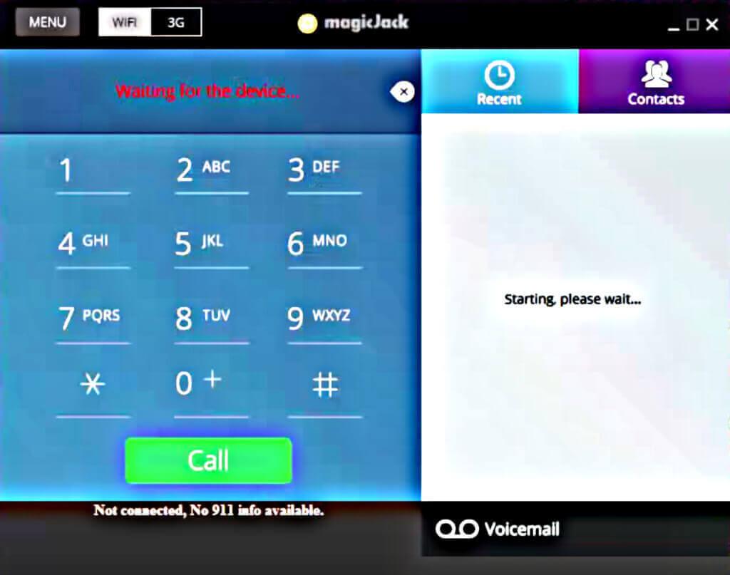 magicJack Softphone Application
