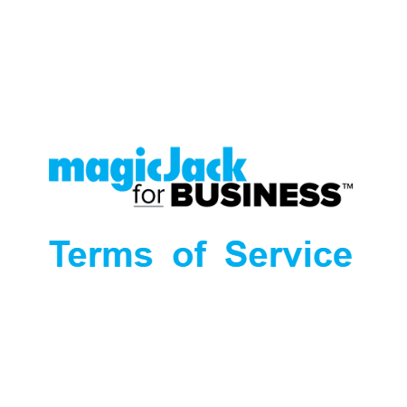 magicJack for BUSINESS Terms Of Service