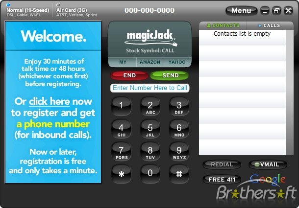 magicJack's PC Softphone Eliminates Need For Actual Phone