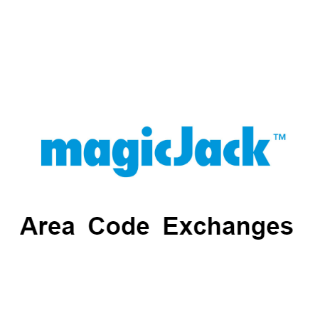 magicJack Area Codes And Exchanges