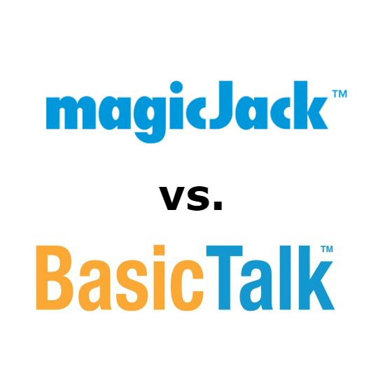 magicJack vs Basic Talk Comparison for 2021