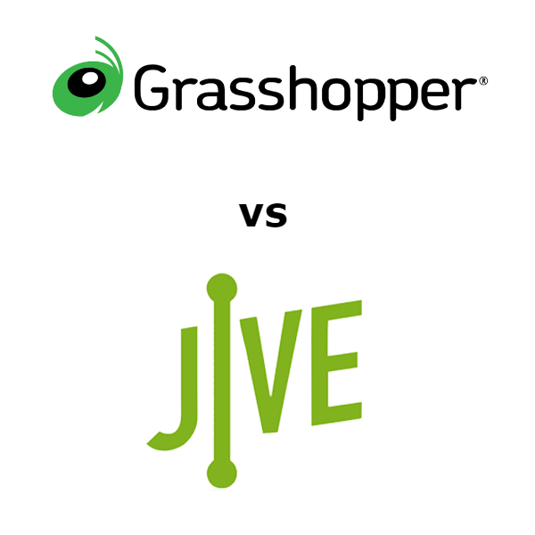 Grasshopper vs Jive Comparison for 2020