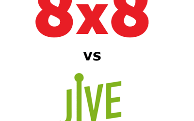 8×8 vs Jive Compared for 2020