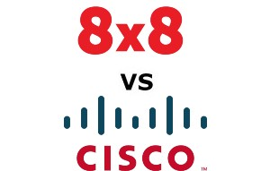 8×8 vs Cisco Compared for 2020