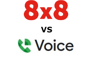 8×8 vs Google Voice Business Compared for 2021
