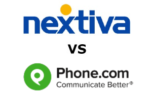 Nextiva vs Phone.com Compared for 2020