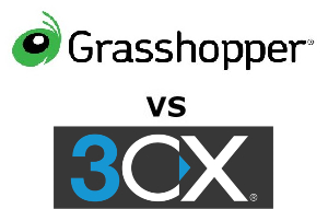 Grasshopper Phone vs 3CX Compared for 2020