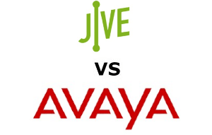 Jive Communcations vs Avaya Compared for 2020