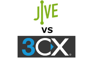 Jive vs 3CX Compared for 2020