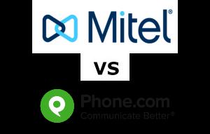 Mitel vs Phone.com Compared for 2021