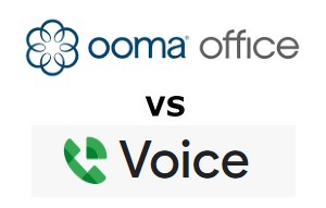 Ooma Office vs Google Voice for Business