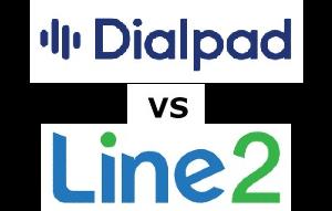 Dialpad vs Line2 Compared for 2021