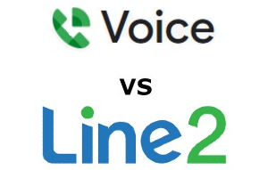 Line2 vs Google Voice Business Compared for 2021