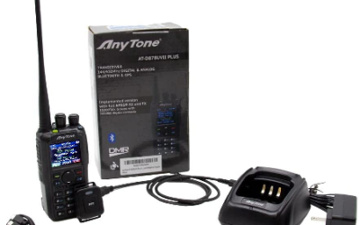 AnyTone AT-878UVII Plus DMR Radio Review